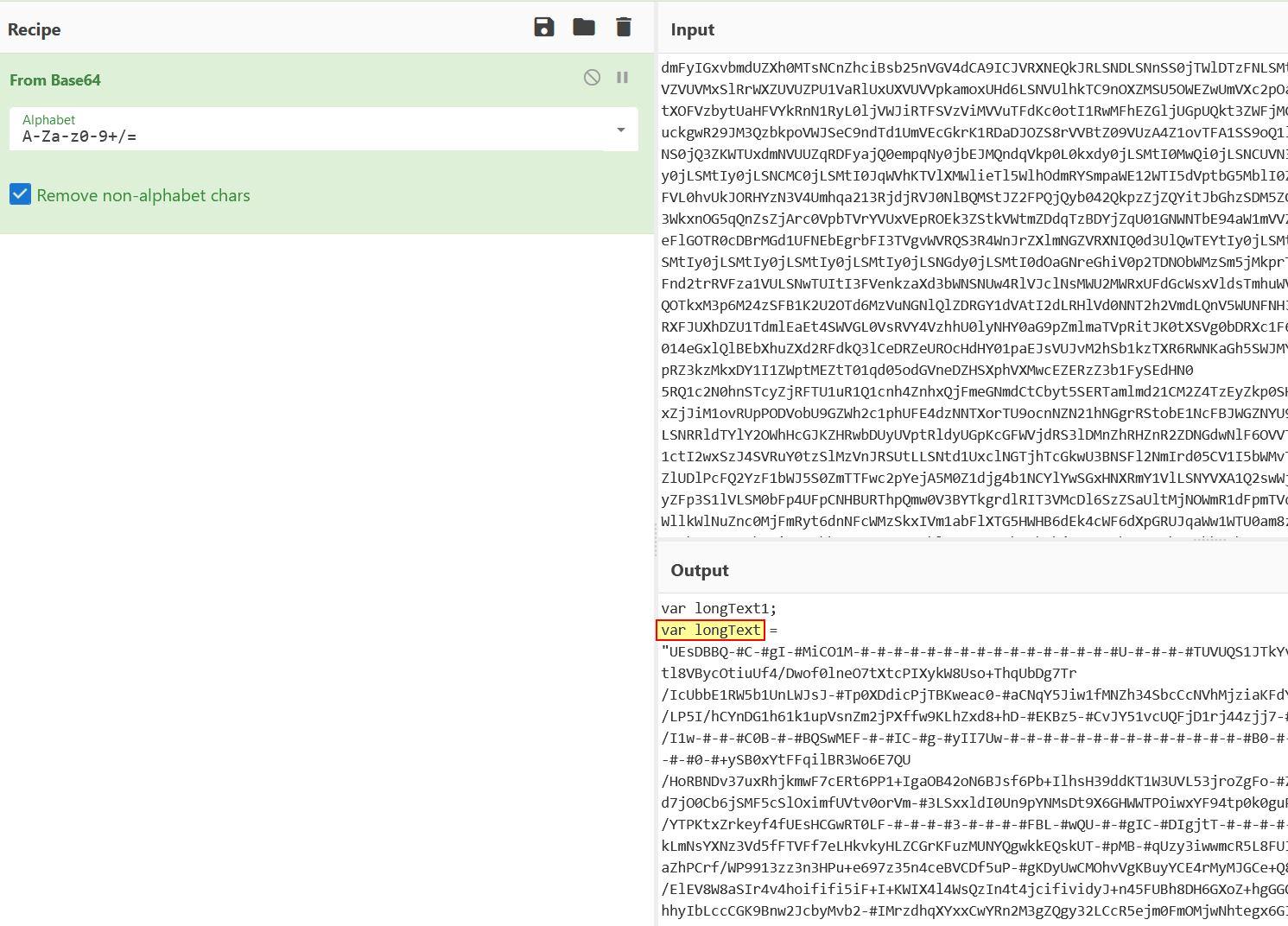 CyberChef Decoded Base64